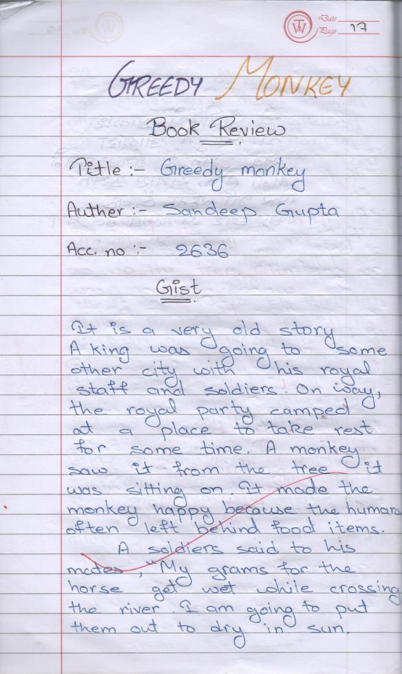 handwritten book reviews sample my online book review o b r  011
